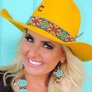 Charlie One Horse Yellow Gold Digger Hat M-L